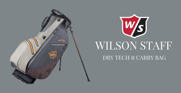 Nepromokavý bag s obří slevou - Wilson Staff Dry Tech II Carry Bag  jen za 2650 Kč