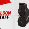 WILSON STAFF LITE II - lehký, plně vybavený cart bag se slevou 42%
