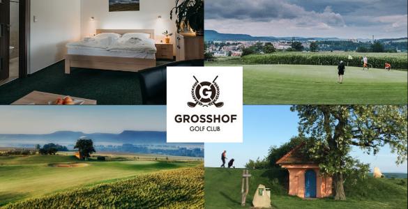 GOLF GROSSHOF - 3 denní golfová pohoda v Broumově