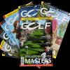 Časopis Golf půlroční předplatné 6+1 číslo zdarma + 6 voucherů 1fee=2 hráči, sleva 49%!