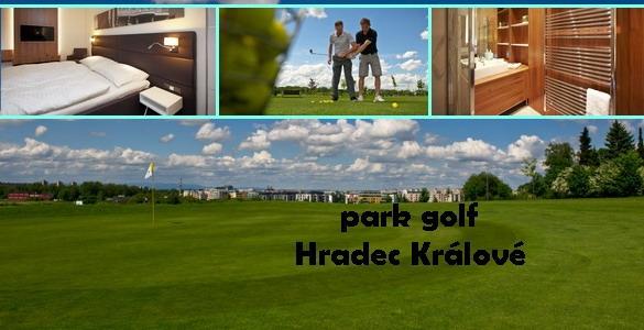 Park Golf Hradec Králové - luxusní golfový pobyt s polopenzí a denním green fee - sleva 35%