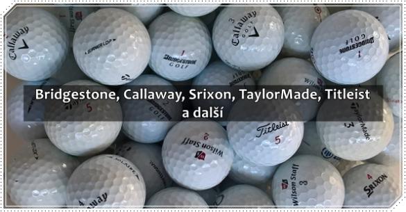 Hrané golfové míčky 50 ks top značek jen za 8,90 Kč / ks, cítíte to jaro?