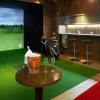 Golf Lounge - hodina hry na golfovém simulátoru v luxusním klubu v centru Prahy - minus 39%