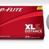 Top Flite XL - 15 ks potištěných golfových míčků s vlastním textem se slevou 44%.