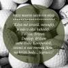 Hrané míče 50 ks - AB kvalita mix značek, jen 8,90 Kč/ks. Doplňte golfovou munici!