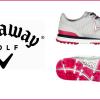 Moderní bezspikové dámské golfové boty Callaway Solaire San Clemente 2017 se slevou 52%
