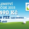 3 fee na 22 hřišť + golfové členství ČGK jen za 1490 Kč