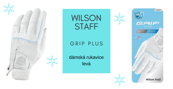 Wilson Staff Grip Plus - lepší dámská syntetická golfová rukavice za hubičku
