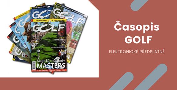 Časopis Golf - roční elektronické předplatné (7 čísel) se slevou 45%