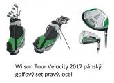 Wilson Tour Velocity 2017 pánský golfový set pravý, ocel