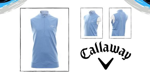 Callaway polobavlněná golfová vesta za 999 Kč