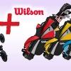 Wilson Prostaff Junior dětský set + 3kolový dětský golfový vozík s 30% slevou!