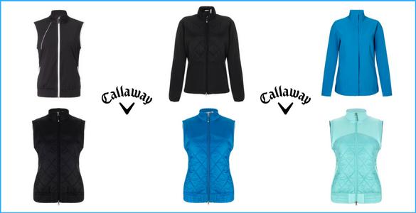 POVÁNOČNÍ VÝPRODEJ - dámské bundy a vesty Callaway za cenu trička - SLEVY 40-70%!