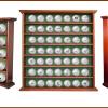 Elegantní dřevěná vitrína na 25 nebo 49 míčků se slevou 37%!