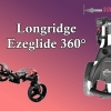 Nadupaný Eze Glide Tri-Spin Compact 360° golfový vozík  + držák na deštník s 32% slevou