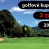 Golfové kupony 2 za 1 - dvacet kuponu jen 149 Kč, hra až na 23 hřištích