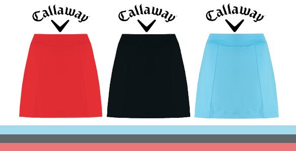 Callaway dámská sukně za polovic - 850 Kč, tři různé barvy a mnoho velikostí