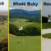 Golfový trojboj ve východních Čechách: Kunětická Hora + Mladé Buky + Nová Amerika - 3 fee se slevou 43%!