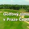 Golfový simulátor - hodina hry až pro 4 osoby jen za 234Kč v Praze Čestlicích!