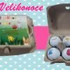 6 golfových vajíček s velikonočními motivy - výběr různých nosnic