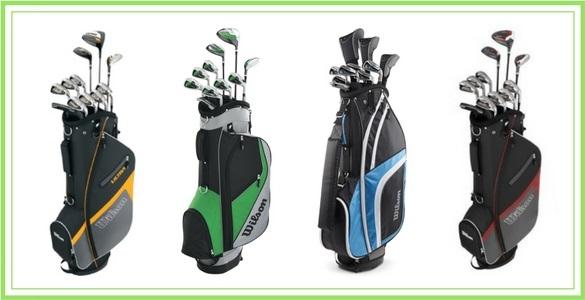 Pánské golfové sety Wilson 2017 s bagem za 6.650 Kč - výběr ze 4 modelů včetně levého i prodlouženého