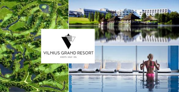 Vilnius Grand Resort***** - 2 nebo 3 noci se snídaní + unlimited golf + wellness