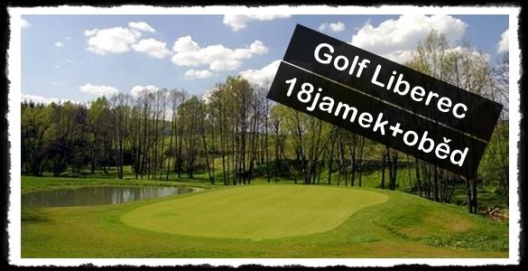 Golf Club Liberec - fee 18 jamek s obědem za parádních 550 kaček i na příští sezonu