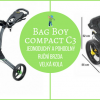 Tříkolý golfový vozík Bag Boy COMPACT C3 - 4 barevné kombinace, všechny za 3.990 Kč!