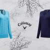 Dámský golfový svetr Callaway Low V Neck za 1090 Kč!! Tmavě modrý, světle modrý, velikosti XS-XXL