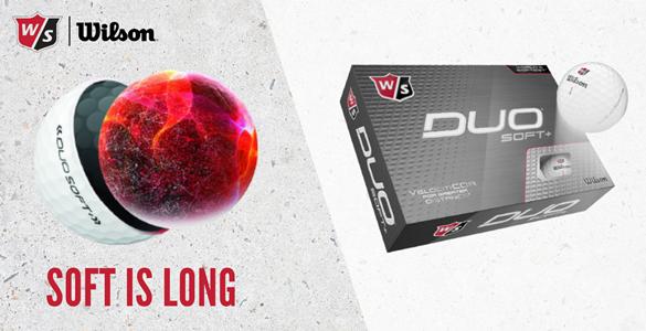 Wilson Staff Duo Soft+ : nejměkčí a nejdelší dvouvrstvý prémiový míč se slevou 25%