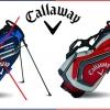 Callaway Chev Stand Bag červenošedý se slevou 48%