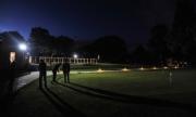 Císařská Louka za tmy golf Praha