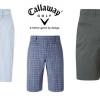 Doprodej pánských kraťasů Callaway - tři modely, poslední velikosti