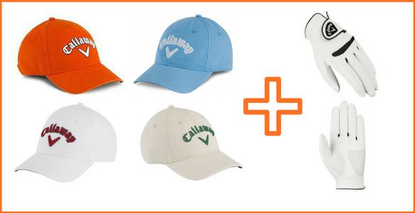 Doplňte vybavení před sezonou: pánská golfová čepice + rukavice za 555 Kč