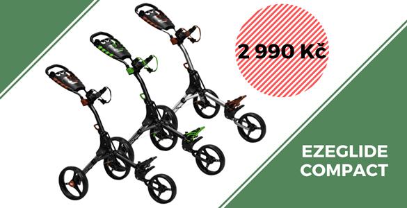 EZEGLIDE COMPACT - superkompaktní golfový vozík v různých barvách jen za 2990 Kč