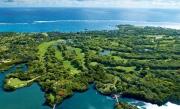 Golf Mauricius ptačí pohled