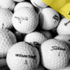 Hrané míče 50 ks - AB kvalita mix značek, jen 9,50 Kč / ks. Doplňte golfovou munici na sezonu!