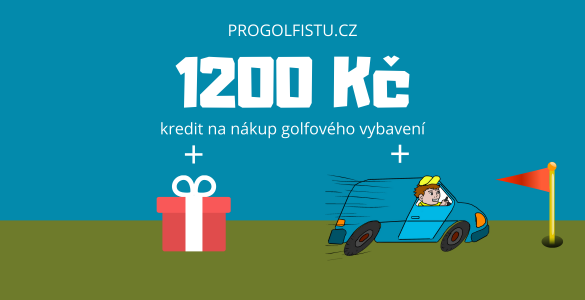 Voucher 1200 Kč na nákup ProGolfistu.cz + dárek a doprava zboží zdarma
