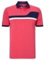 Pánské golfové tričko Callaway Asymmetrical Colour Block