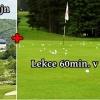 Luxusní fee 18 jamek na Karlštejn jako dárek k výživné golfové lekci v Praze - 4 varianty