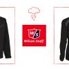 Větru- i voděodolná Wilson Staff FG Tour Rain Top bunda se slevou 47%