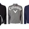Pánská softshellová bunda Callaway se zipem po celé délce - ČERNÁ / ŠEDÁ/ TMAVOMODRÁ, výběr velikostí